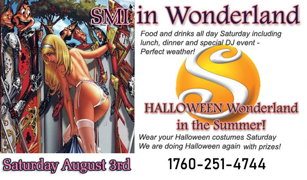 Earth's sexiest HALLOWEEN Event Sea Mountain WONDERLAND Halloween in the SUMMER - Las Vegas and California August 3