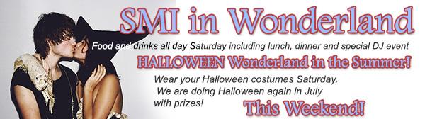 Sea Mountain Spa Wonderland Halloween July 31st 2021
