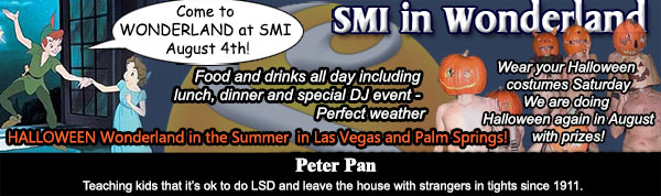 SMI Sea Mountain In Wonderland Special Event - Sea Mountain nude Lifestyles Resorts Las Vegas and Palm Springs