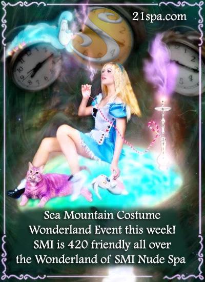 Sea Mountain Wonderland Halloween July 31st 2021