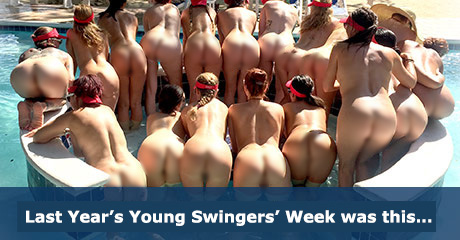 Young Swingers Event and our Fourth Of July Week Celebrations are coming